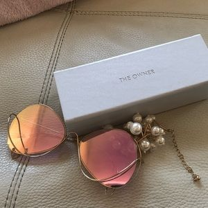 Accessories - The Owner Sunglasses- pink
